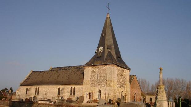 Eglise Saint-Aubin-sur-mer