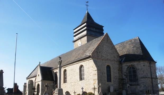 Eglise Saint-Martin de Sotteville sur Mer