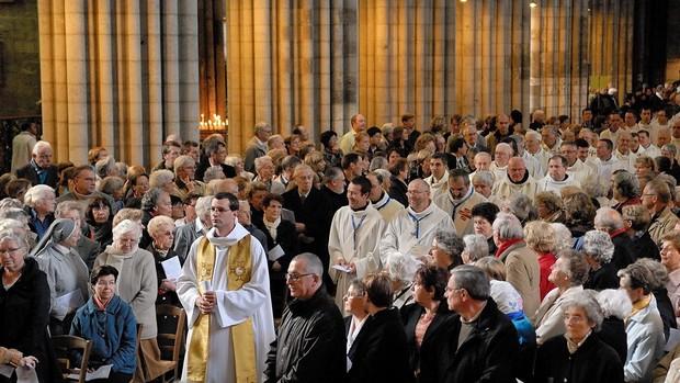 Messe de la Saint-Romain et Ouverture du synode de Rouen 25/10/09