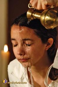 Baptême de jeunes adultes