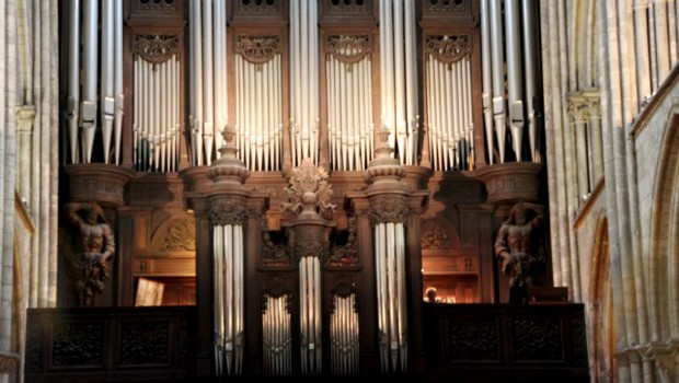 orgue cathedrale rouen