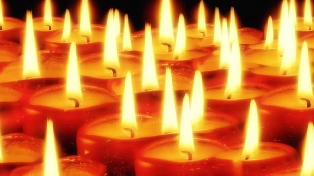 lumières bougies