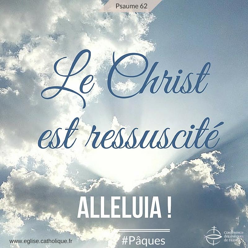 Pâques résurrection du christ