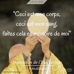 5. Jeudi saint institution de l'eucharistie