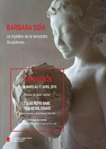 Affiche BARBARA.SOIA 2016