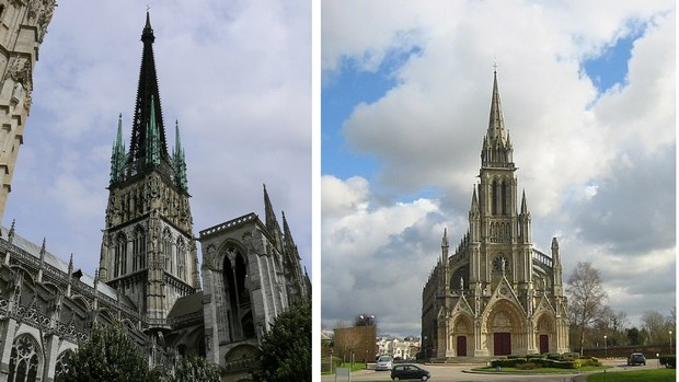 cathédrale et bonsecours