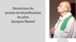titre Ouverture duprocès de béatificationdu pèreJacques Hame