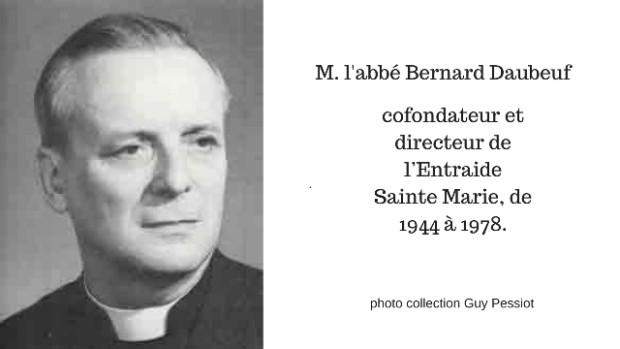 M. l'abbé Bernard Daubeuf