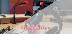 Chroniques de Mgr Dominique Lebrun (3)