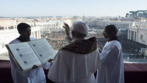 Pape François - Message de Noël 2017