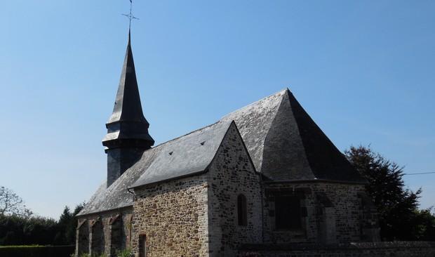 Eglise Saint-Denis à Saumont-la-Poterie