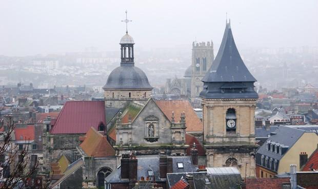 L'Église Saint-Jacques à Dieppe