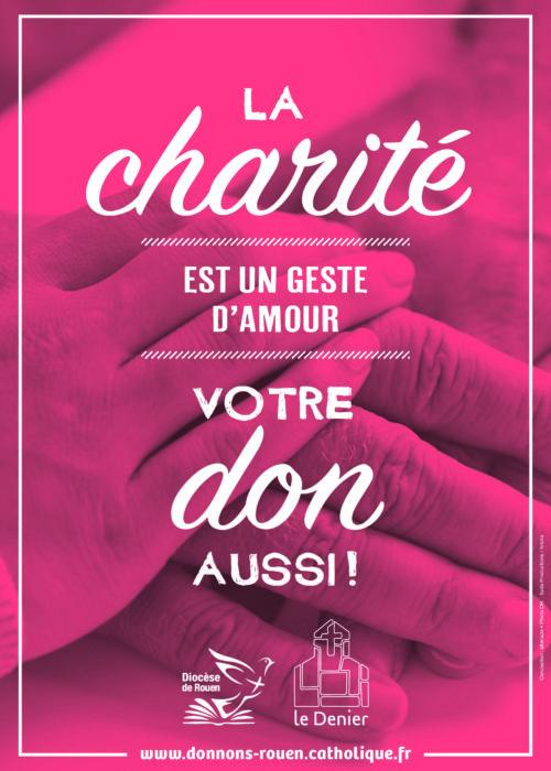 Affiche Denier 2018 Charité