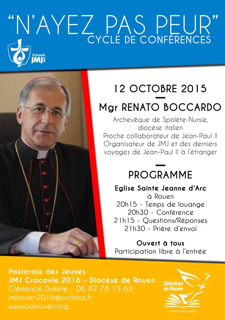 Mgr Boccardo le 12 octobre