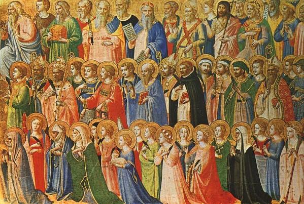 (Tous les saints - Fra Angelico)
