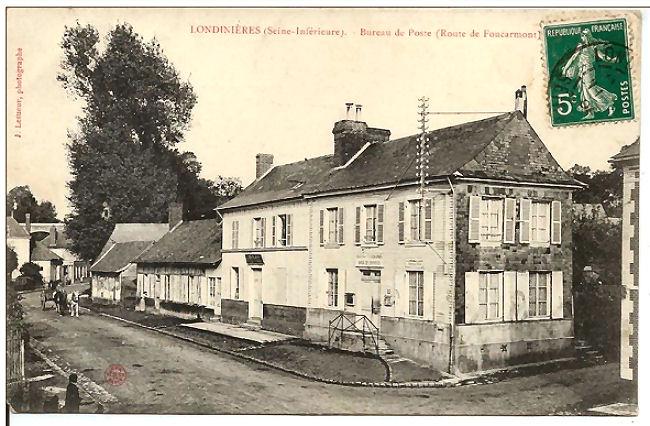 06 Ancien bureau de poste de Londinières