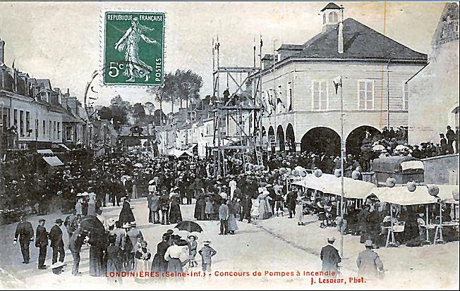 14 Concours de pompes à incendie en juin 1906