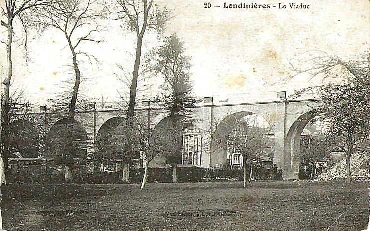 17 Viaduc de Londinières (vue d'ensemble)
