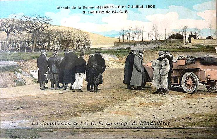 18 Virage de Londinières (circuit A.C.F. Seine-Inférieure)