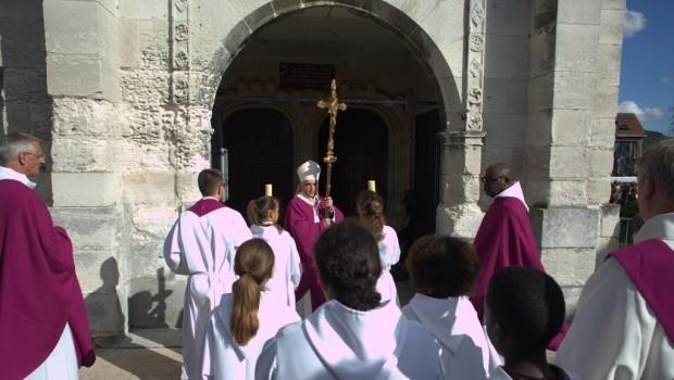 Réouverture de l'église de Saint-Etienne-du-Rouvray