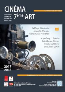 Affiche ciné Art 2017 - 18