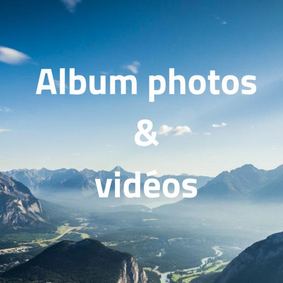 Album photos & vidéos