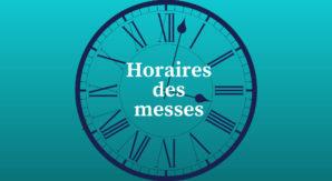 Horaires des messes 2
