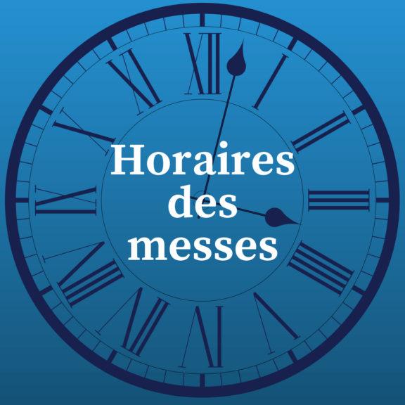 Horaires des messes (3)