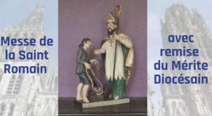 Messe de la Saint Romain avec remise du Mérite Diocésain (1)