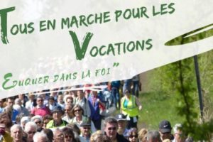 Marche pour les vocations - 2019