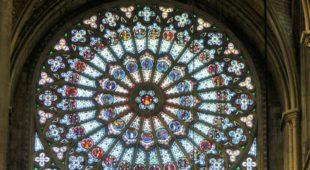 Rosace cathédrale de Rouen