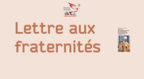 Lettre aux fraternités 2019