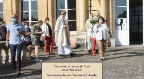 IMG_2287 Titre Messe du Voeu et Père Vincent -