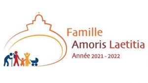 Logo année de la famille Amoris laetitia 2021-2022 - Format 620x349