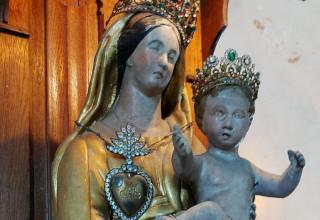 Vierge de l'église de Cuverville