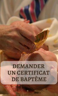 image - demander un certificat de baptême