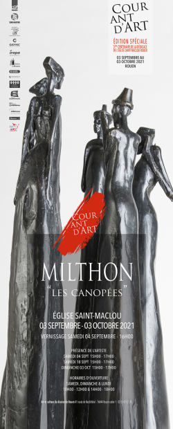 AFF MILTHON - COURANT D ART - 2021