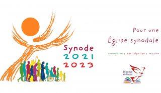 Logo synode - Diocèse de Rouen