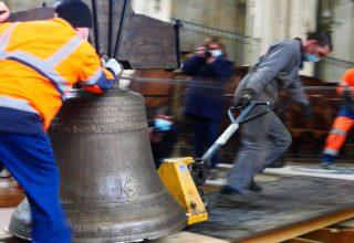 Retour des cloches, ville d'Eu (image mise en avant 320:220)